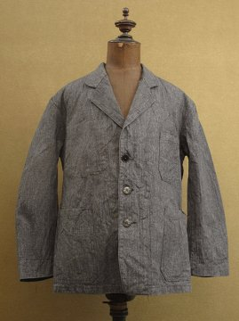 cir.1940's salt&pepper work jacket