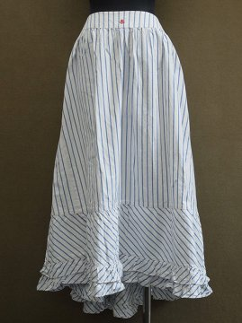cir. 1900's striped skirt