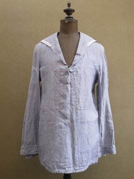 mid 20th c. linen sailor top