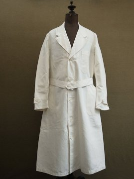 cir. 1940-1950's linen work coat