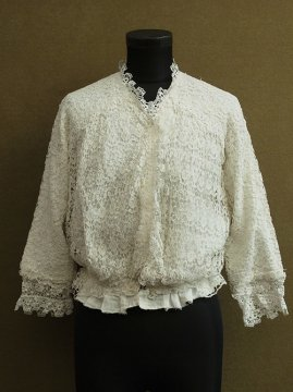 1900's-1910's lace blouse