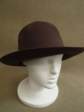 cir. 1930-1950's brown felt hat