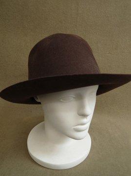 cir. 1930-1950's brown felt hat