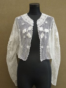 early 20th c. crochet lace blouse