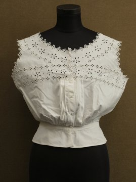 early 20th c. cutwork N/SL top