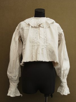 early 20th c. linen top