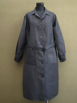 mid 20th c. printed work coat