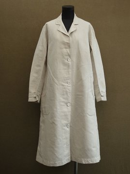 cir. 1920-1930's linen work coat