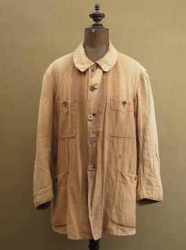 cir. 1920 - 1930's linen hunting jacket