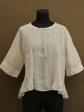 1900-1910's cream dots blouse