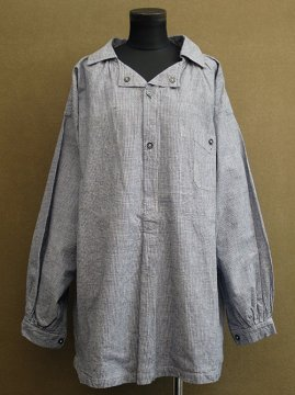 cir.1930's houndstooth checked work shirt / smock