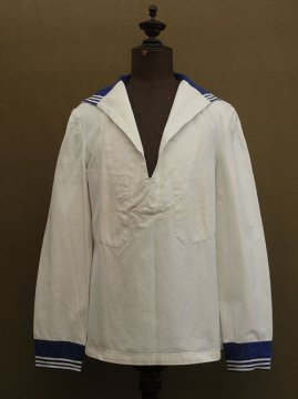 mid 20th c. cotton sailor top