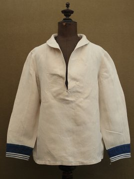 1930's linen sailor top