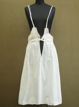 early 20th c. linen × cotton underdress