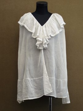 1910-1920's white blouse