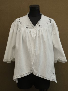 early 20th c. S/SL cutwork blouse