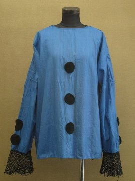 cir. 1920's blue clown costume