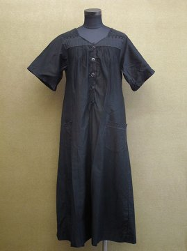 1930's black dress S/SL