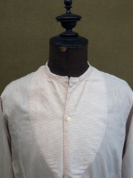 1930-1940's red striped shirt