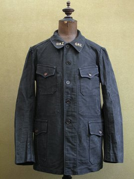 cir.1930's-1940's black twill jacket
