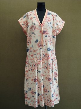 late 1920's - early 1930's printed pinkdress