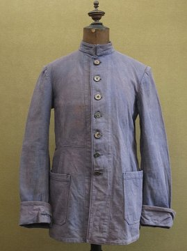 ~1930's navy stand collar jacket