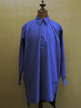 1930-1940's dead stock blue work shirt