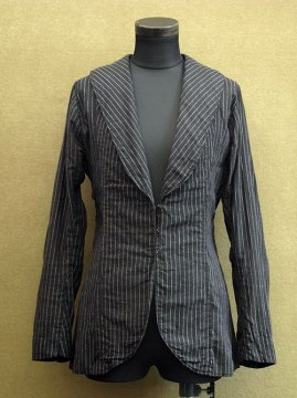 cir.1940's striped womens jacket