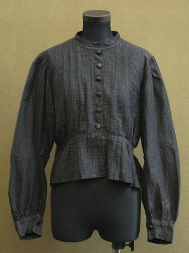 early 20th c. dots blouse