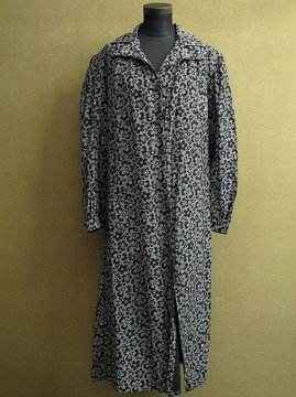 cir.1930's flower printed work coat