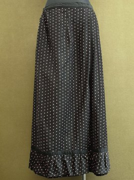 early 20th c. black skirt