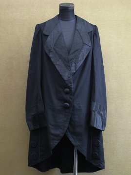 early 20th c. black long jacket / coat