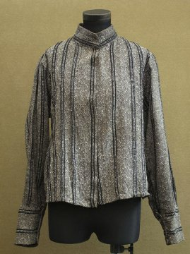 1900's striped gray bodice