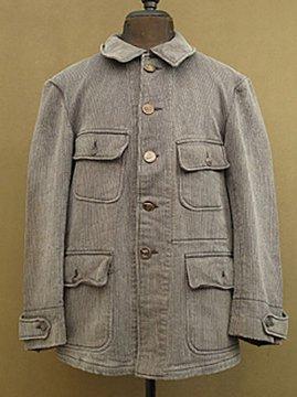 ~1940's salt&pepper pique hunting jacket