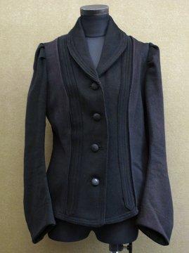 early 20th c. black wool jacket