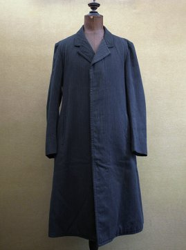 1910-1930's striped wool coat