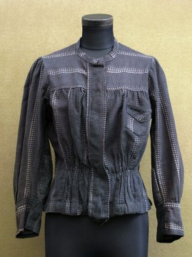 early 20th c. striped blouse / jacket