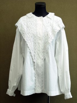 early 20th c. cutwork white blouse