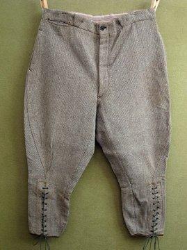 cir.1930-1940's brown wool jodhpurs