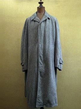 mid 20th c. gray wool coat