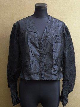 1900-1910's black silk blouse