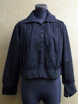 1910-1930's black blouse