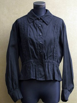 early 20th c. black blouse