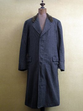 1920's checked wool coat