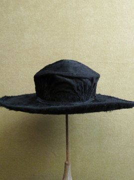 late 19th - early 20th c. black hat