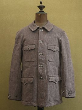 1930-1940's wool hunting jacket dead stock