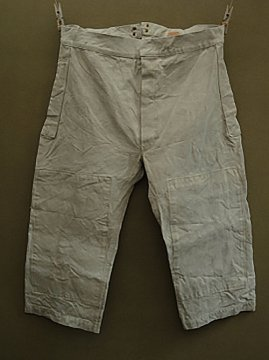 cir. 1920-1930's linen hunting overpants