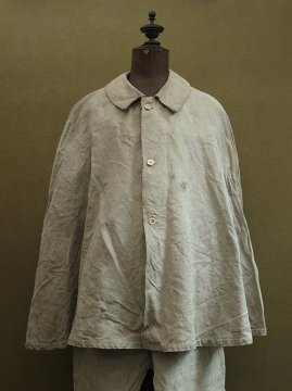 cir. 1920-1930's linen hunting cape