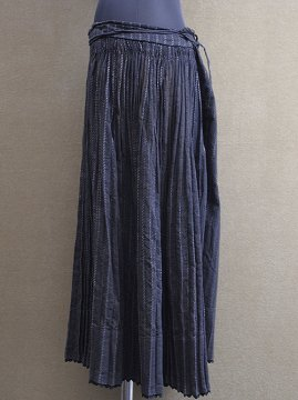 cir. 1920-1940's black striped skirt II