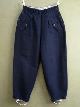 1940-1950's navy wool ski pants